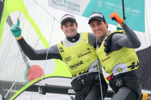 Aussies win two golds at Kiel Week