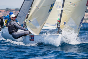 Nils Theuninck on top after fantastic first day of U23 Finn World Championship