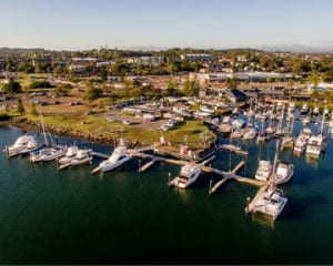 Port Macquarie gets new arm and upgraded dock