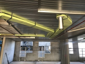 PVC ducting joins environmental register