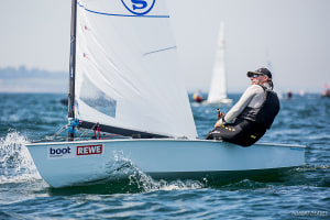 Thomas Hansson-Mild remains OK Dinghy World No. 1 as big numbers contend end of season championships