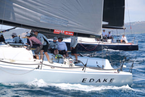 Farr 40 One Design Trophy: Edake claims boat of the day