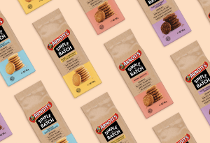 Arnott's keeps it Simple with back-to-basics design