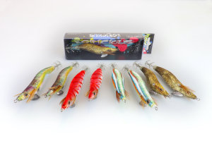 Fish Inc. Egilicious squid jigs