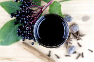 Blog: Making elderberry syrup