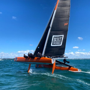 Pack attack - four Extreme 40s face off in the Multihull Nationals