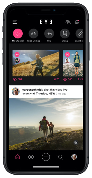 Sports-based social network​ EYE Live launched