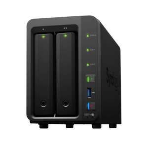 Synology DS718+ dual-bay NAS