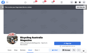 Facebook Shuts Down Bicycling Australia Page - Here's What You Can Do