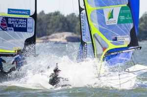 Champions explain 49er racing and training in excellent videos