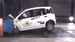 Five stars for India, Fiat Panda panned