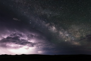 How I shot the milky way rising above a thunderstorm