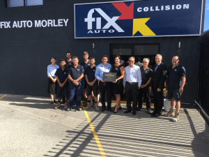 Gold status achieved by Fix Auto Morely