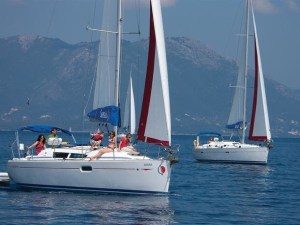 Sunsail's cabin charters in the Med