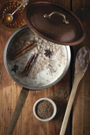 Recipe: Brown rice porridge