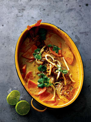 Recipe: Fish, coconut and sweet potato curry