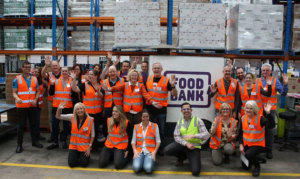 AIP members throw their weight behind Foodbank