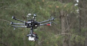 Infrared sensing gives forest drones a new edge