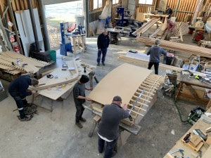 Franklin 29 project showcases shipwright skills