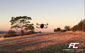 Freedom Class giant drone achieves 159kph in test