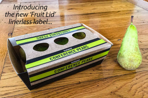 UK company trials linerless labels