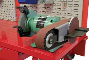 Tough and sturdy bench grinder