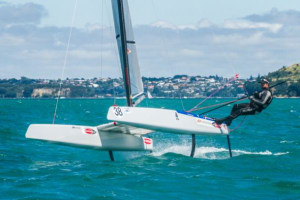 Sailing royalty to line up at A-Class worlds on Hervey Bay
