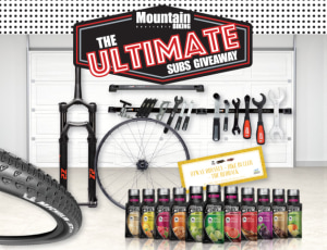 Win $7000 worth of MTB gear