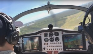 FRIDAY FLYING VIDEO: The Turn-back
