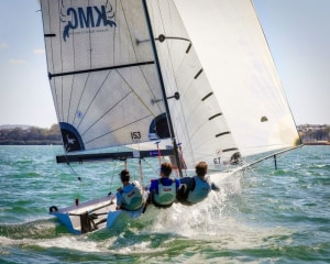 16ft Skiff nationals at Port Stephens to be a battle for the ages