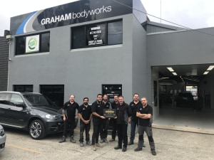 Graham Bodyworks Eltham achieves Gold Class