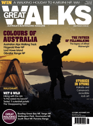Great Walks Oct-Nov issue out now!