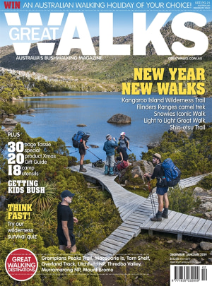 Great Walks Dec-Jan cover revealed
