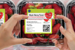 2DBarcode: the future trialled at Woolies