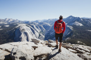 Hiking Yosemite NP's famous Half Dome