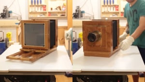 Video: Watch a craftsman build a large format camera from scratch