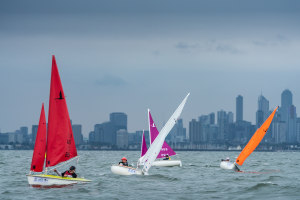 Four Seasons in one day at Sail Melbourne