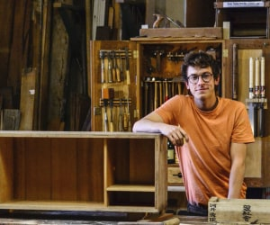 Harry Morris and The Bower Woodworks project
