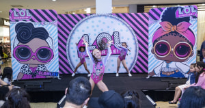 Aussie Lol Surprise fans treated to runway show