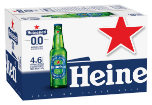 Heineken launches zero alcohol brew