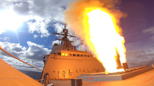 HMAS Hobart in first local missile firing