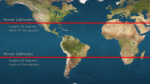 Fast Facts: What are the Horse Latitudes?