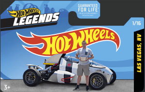 2JetZ custom car wins Hot Wheels Legends Tour