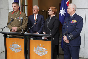 New Defence chiefs announced