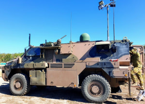 Mobile battlespace comms trialled at Talisman Sabre