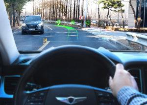 现代全息AR导航系统