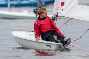 No wind, no racing at Laser Radial Youth Worlds