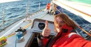 Young sailor completes solo Pacific crossing to raise money for Indigenous Literacy