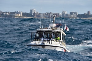 Marine Rescue NSW marks a decade of volunteer service