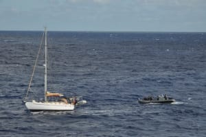 Melbourne rescues stricken yacht off Bundaberg